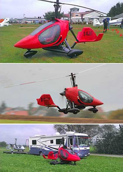 Rotortec Gyrocopter